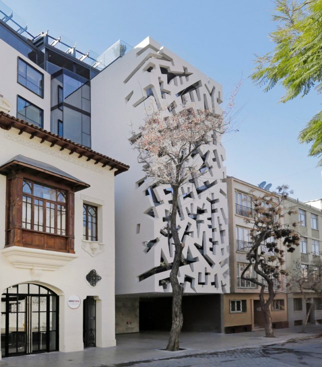 Fashionable facades 15 buildings that put on an artistic for Exterior facade ideas
