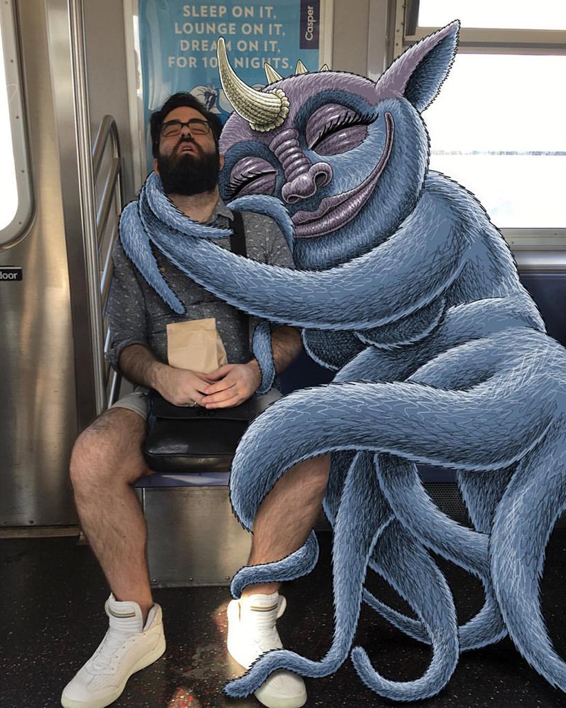subway-snuggle-monster