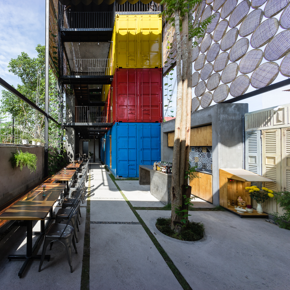 Cargotecture Travel: Shipping Container Hostel Opens in Vietnam