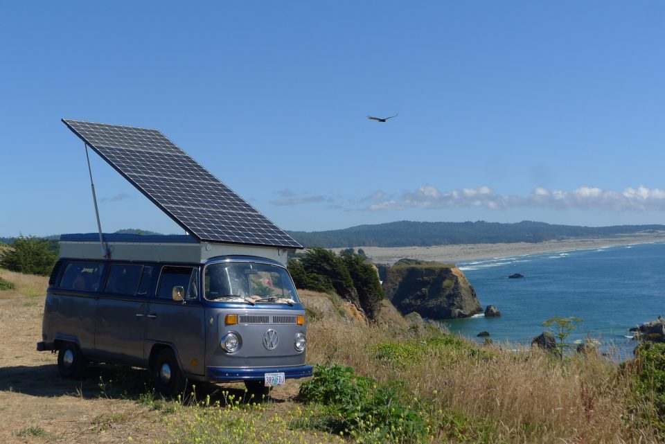 Hippie Bus For The 21st Century DIY Solar Volkswagen Camper Van