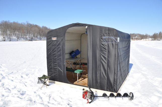 2016 Camper Van >> Angling for Warmth in Winter: 21 Ice Fishing Hut Designs | Urbanist