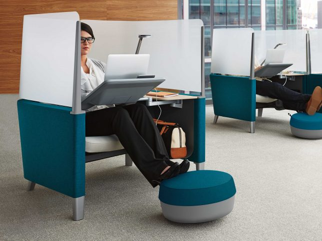 Brody Desk by Steelcase & Made for Introverts: 13 Furniture Designs u0026 Wearables That ...