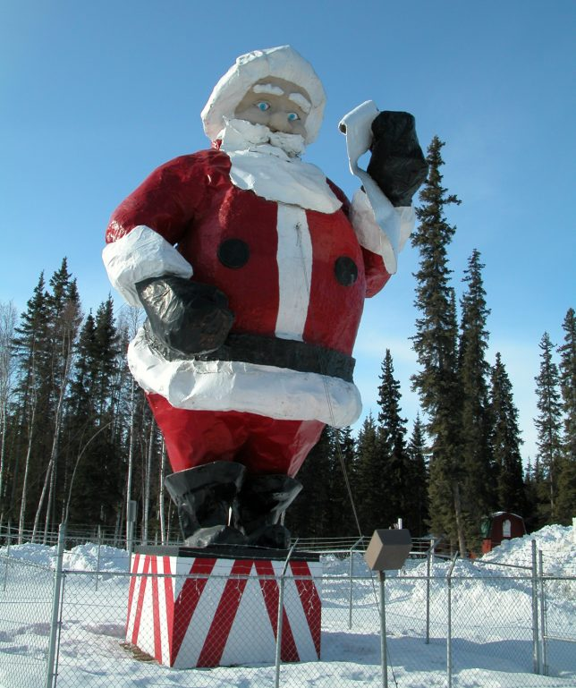 Santa claustrophobia the world s creepiest statues
