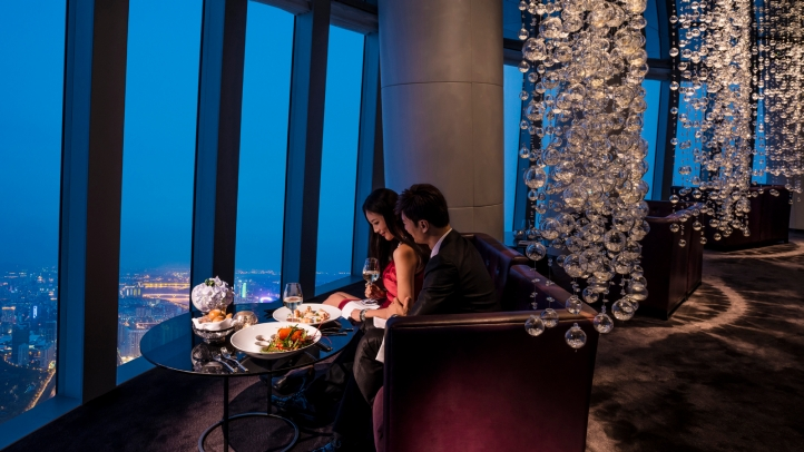 High Elevation Dining 12 Sky Scraping Restaurants Around