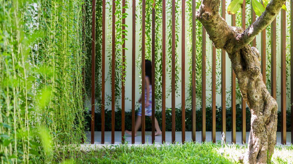 Modern Babylon Hanging Plants Serve As Green Walls