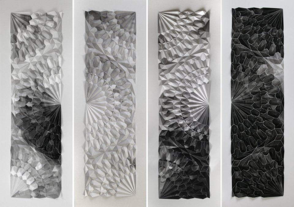 Telemetry: Tessellated Paper Sculptures Marry Art and Engineering ...
