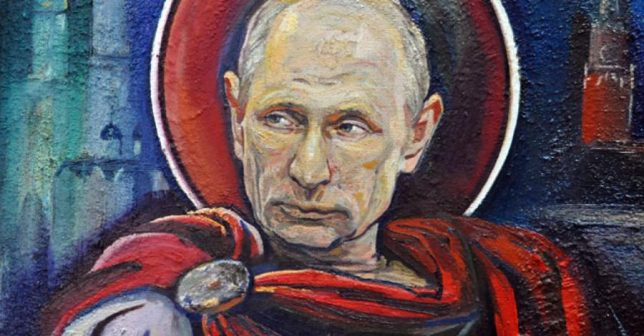 Breaking Vlad Street Art Takes On Vladimir Putin Urbanist