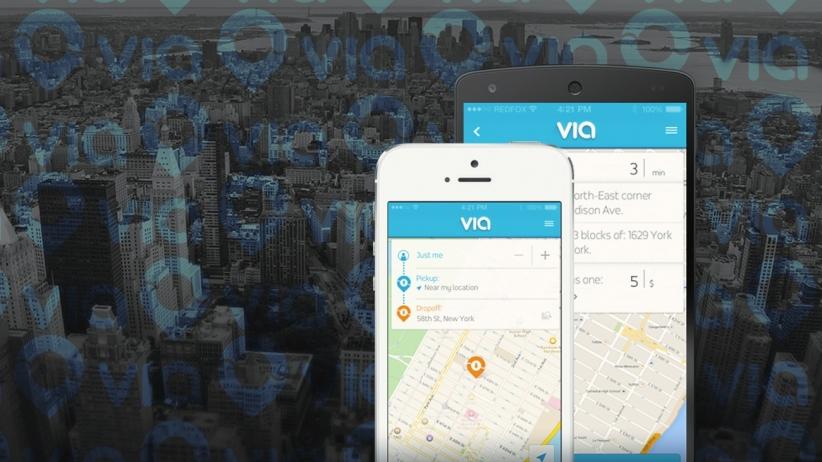via-ridesharing-app