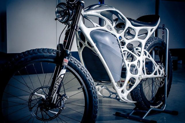3D printed motorcycle 3
