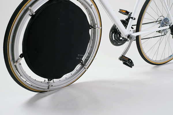 bike tire tent