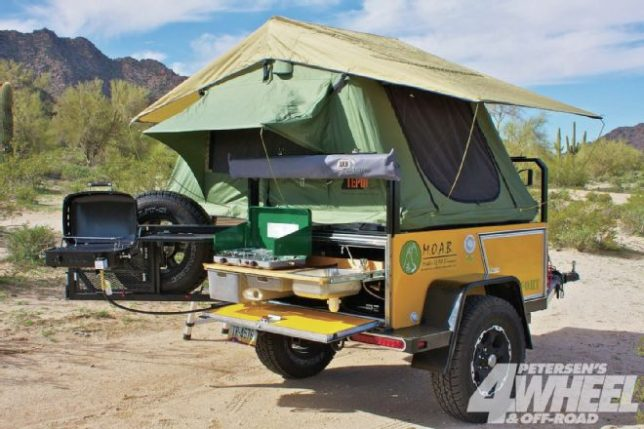 Designed To Go Beyond Pavement Where Camp Sites Are Declared Not Rented The Moab Fort By Bivouac Camping Trailer Makes Off Grid Exploration More