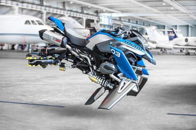 bmw hover bike