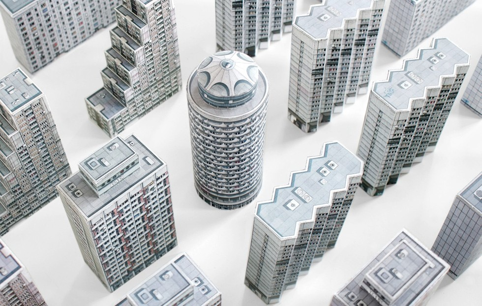 Brutal East: New Scale Models of Brutalist Architecture