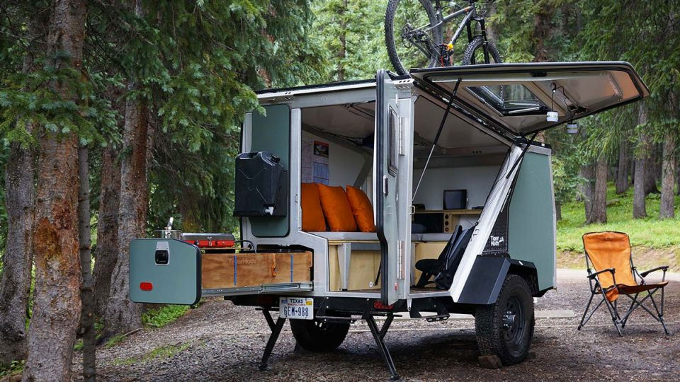 extreme off road camping trailers