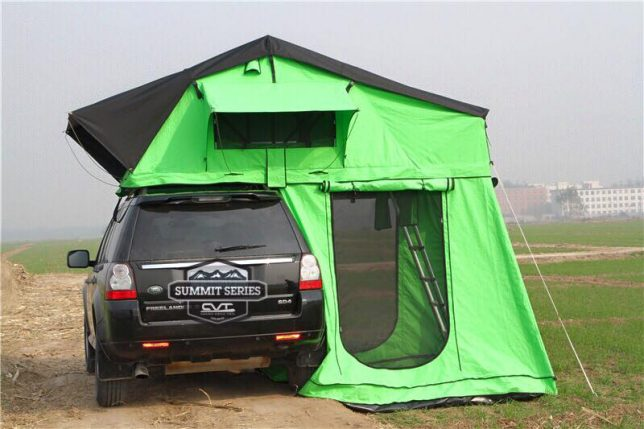 cascadia mt rainier rooftop tent 2 & Pop-Up Car Tents: These 15 Rooftop Campers Are Like Portable Tree ...