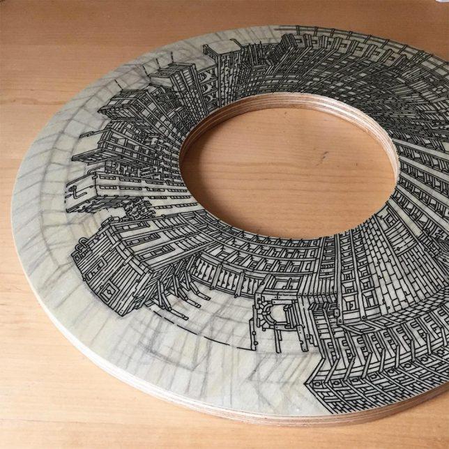 circular cut