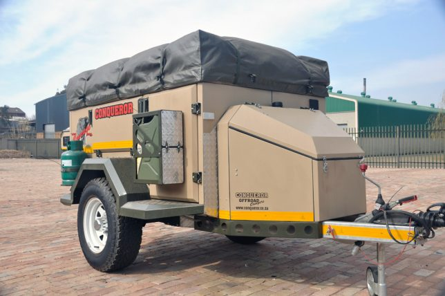 Extremely Comfortable Camping 13 Rugged Off Road Trailers