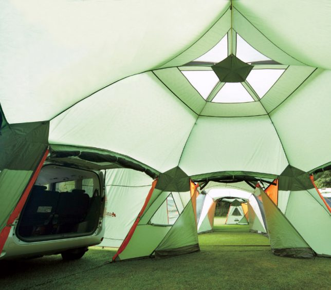 Decagon Car Tent 2