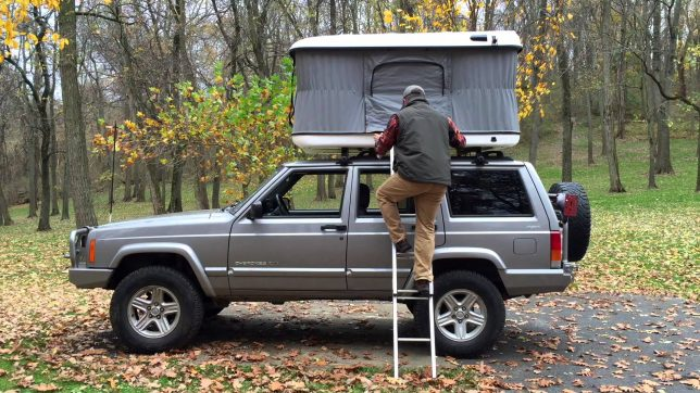 james baroud evasion rooftop tent