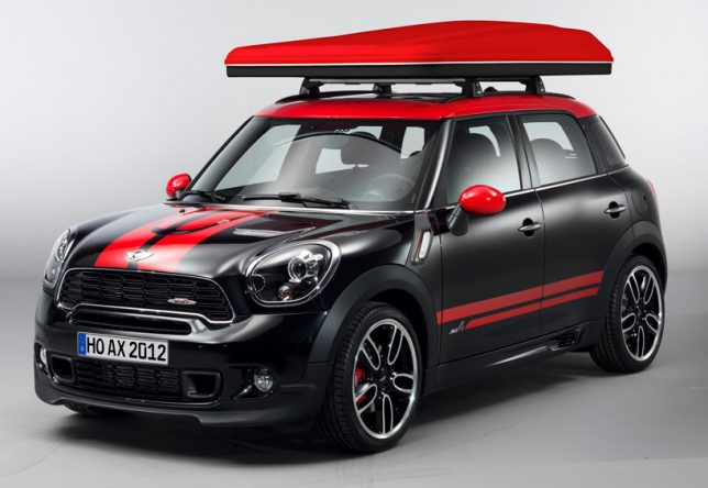 On the other end of the ruggedness spectrum is this cute rooftop tent design that mounts onto the roof of the BMW MINI. The Swindon Rooftop Tent mounts to ... : mini cooper roof top tent - memphite.com