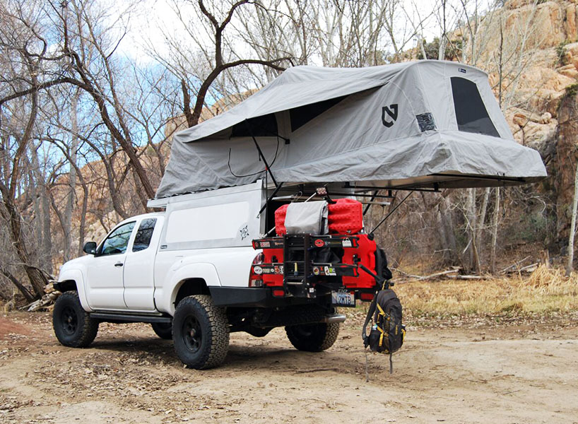 overland tacoma 1 & Pop-Up Car Tents: These 15 Rooftop Campers Are Like Portable Tree ...