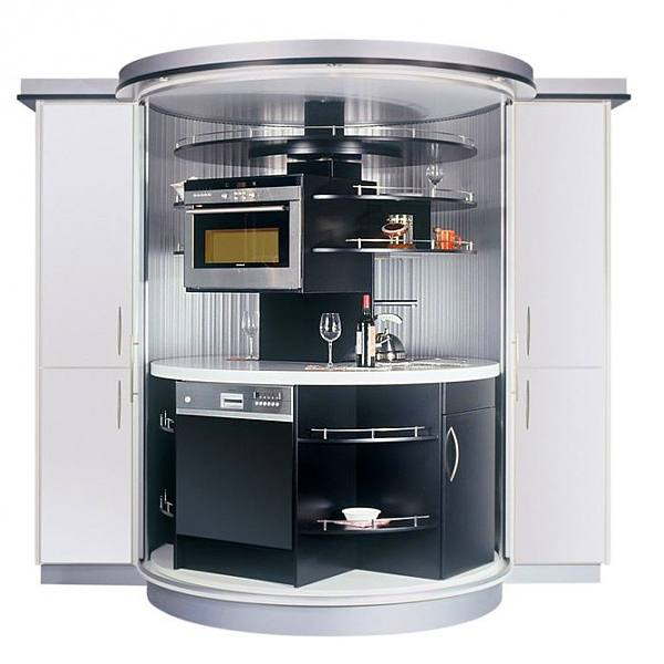rotating kitchen