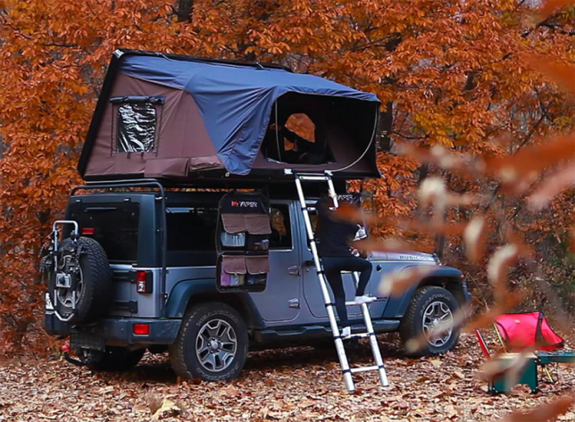 ik&er rooftop tent. skyc& 2 & Pop-Up Car Tents: These 15 Rooftop Campers Are Like Portable Tree ...