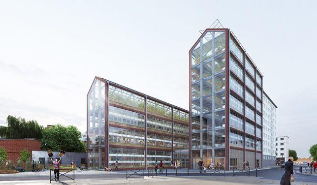 vertical greenhouses paris