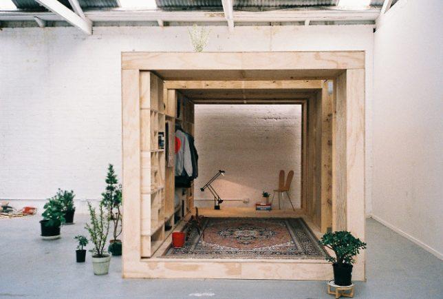 wooden sleeping pods 4