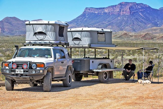 From The Same Company Building Trailer Platforms For Armed Forces Comes Xventure A Severe Duty Packed With Military Grade Gear