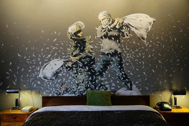 banksy walled off hotel 1
