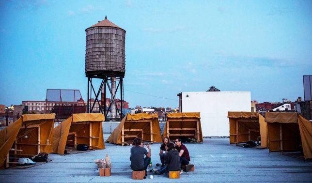 bivuoac urban camping
