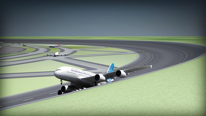 circular takeoff