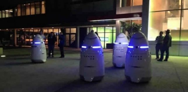 creepy tech K5 security robot 2
