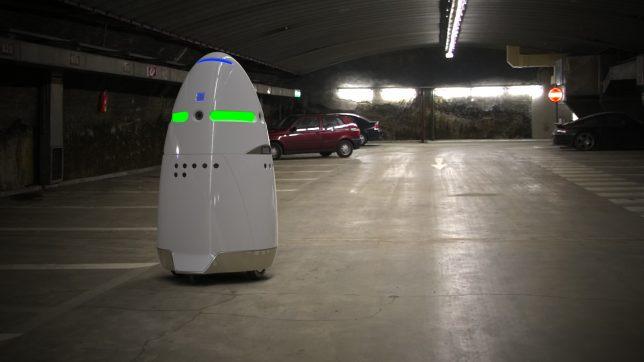 creepy tech K5 security robot