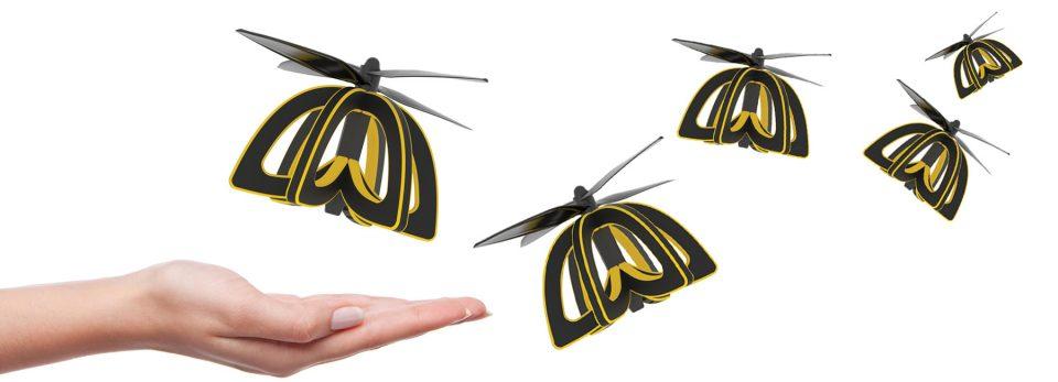 creepy tech bee drone