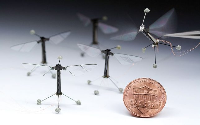 creepy tech insect drones
