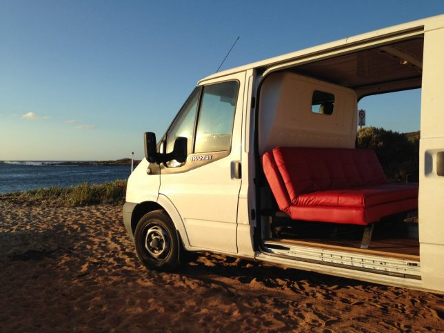 stealth campers and diy rvs 15 creatively converted vans. Black Bedroom Furniture Sets. Home Design Ideas