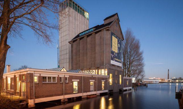 grain silo food hall