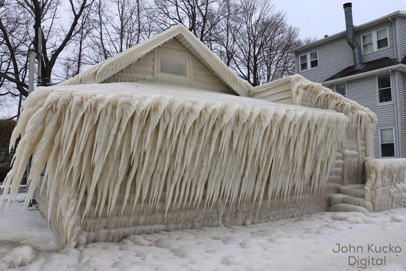 ice house exterior