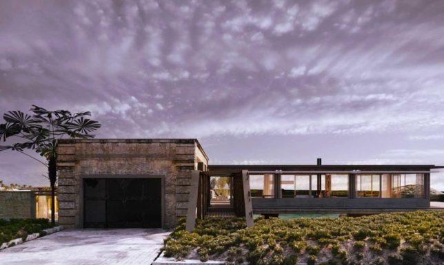 industrial ruins beach house 2