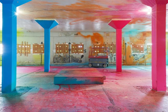 Abandoned Tobacco Factory Gets an Acid-Toned Makeover & New Purpose