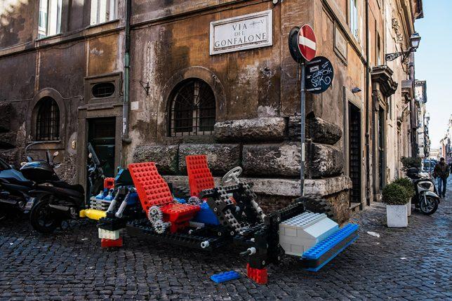 life size lego cars 3