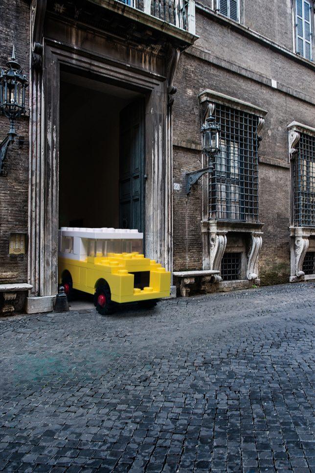 life size lego cars