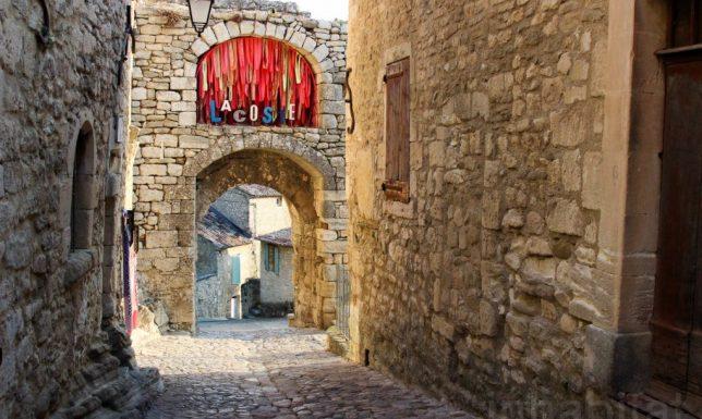 medieval ruins art school