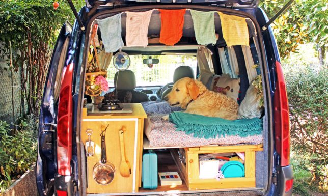 Mini Van Motor Home : Stealth campers and diy rvs creatively converted vans