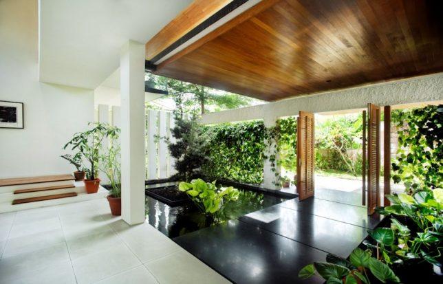 rattan house