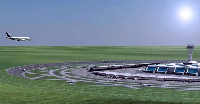 round runway solution