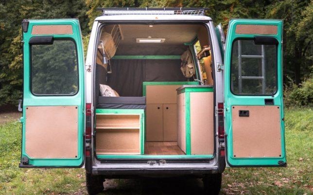 Solar Powered Van 1