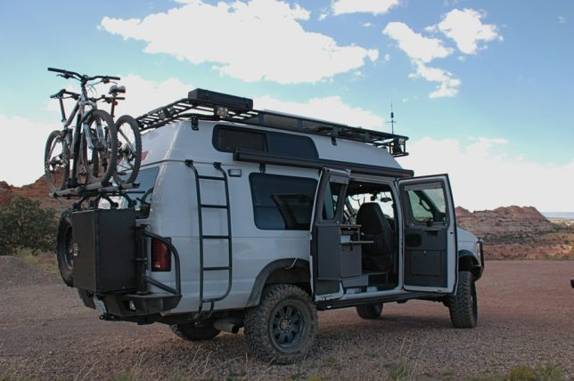 sportsmobile adventure van